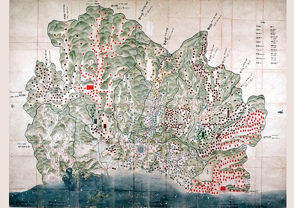 たつの市/播磨国絵図