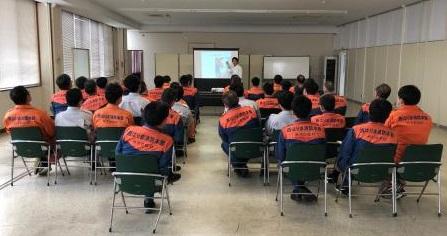たつの消防署でのゲートキーパー講習会1
