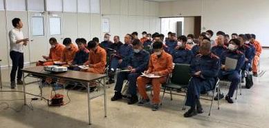 たつの消防署でのゲートキーパー講習会2