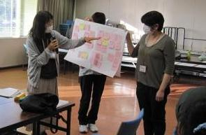 それぞれの意見を参加者で情報共有しました