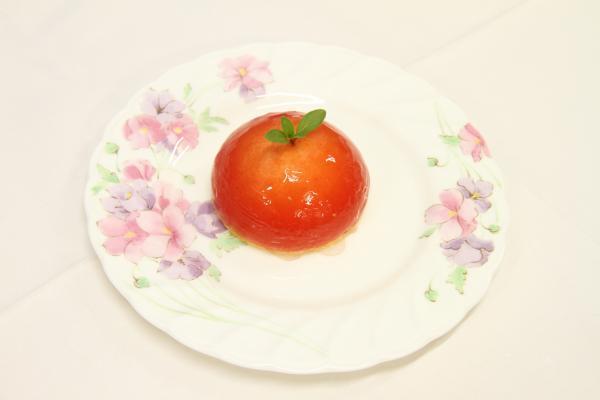 トマトチーズケーキ